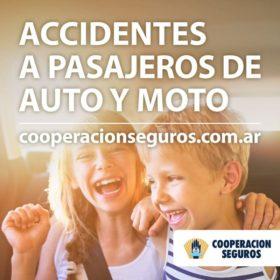 Accidentes a Pasajeros de Auto y Moto