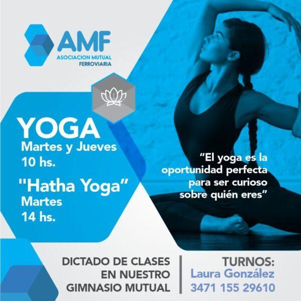 Actividades Físicas y Recreativas - Yoga